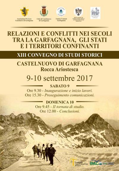 XIII Convegno di Studi Storici sulla Garfagnana
