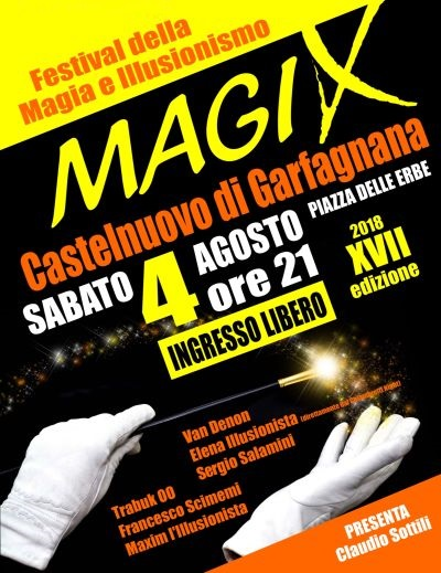 MagiX - Sabato 4 agosto 2018